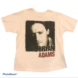 Vintage Bryan Adams 1992 Concert Tour Tee T-shirt